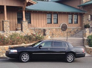 Napa Valley Limo Services at winery
